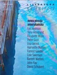 Literatura na świecie 11-12/2010 • Nowa poezja amerykańska