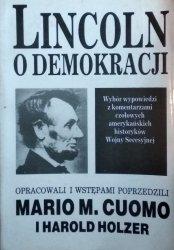 Mario Cuomo • Lincoln o demokracji