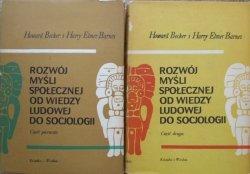 Howard Becker, Harry Elmer Barnes • Rozwój myśli społecznej od wiedzy ludowej do socjologii [komplet]
