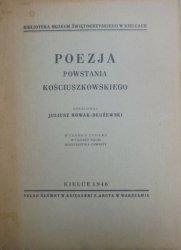opr. Juliusz Nowak-Dłużewski • Poezja Powstania Kościuszkowskiego