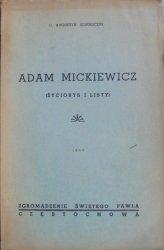 o. Augustyn Jędrzejczyk • Adam Mickiewicz (życiorys i listy)