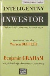 Benjamin Graham • Inteligentny inwestor. Najlepsza książka o inwestowaniu wartościowym