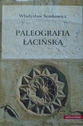 Władysław Semkowicz • Paleografia łacińska