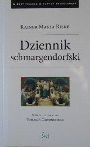 Rainer Maria Rilke • Dziennik schmargendorfski