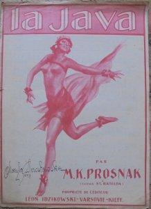 M.K. Prosnak (muzyka), St. Ratolda (słowa) • La Java
