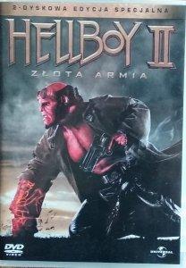 Guillermo del Toro • Hellboy 2: Złota armia  • DVD