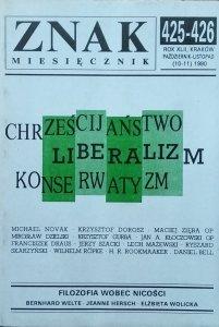 Znak 10-11/1990 • Chrześcijaństwo. Liberalizm. Konserwatyzm