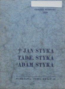 Wystawa prac Jana, Tadeusza i Adama Styków • Okrężna, wystawa 1930