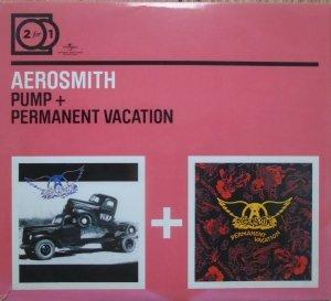 Aerosmith • Pump. Permanent Vacation • 2xCD