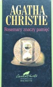 Agata Christie • Rosemary znaczy pamięć