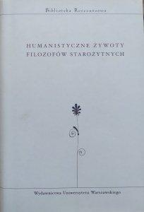 antologia • Humanistyczne żywoty filozofów starożytnych