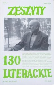 Zeszyty Literackie numer 130/2015 • Adam Zagajewski