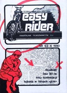 Easy Rider 1(3) XI 1990 • Kino kontestacji, kobieta w filmach Gore
