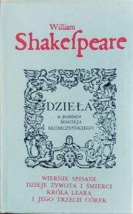William Shakespeare • Wiernie spisane dzieje żywota i śmierci króla Leara i jego trzech córek