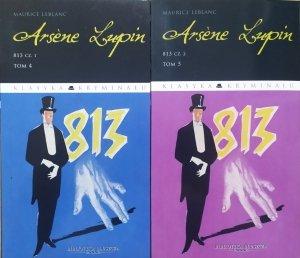 Maurice Leblanc • Arsene Lupin tom 4/5. 813