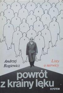 Andrzej Rogiewicz • Powrót z krainy lęku. Listy o nerwicy