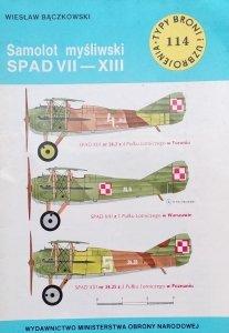 Wiesław Bączkowski • Samolot myśliwski SPAD VII - XIII