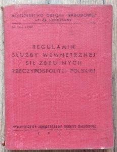 Regulamin Służby Wewnętrznej Sił Zbrojnych Rzeczypospolitej Polskiej [1951]