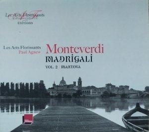 Les Arts Florissants, Paul Agnew • Monteverdi Madrigali, Vol.2 Mantova • CD