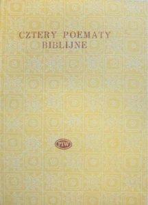 Roman Brandstaetter • Cztery poematy biblijne [Biblioteka Poetów]