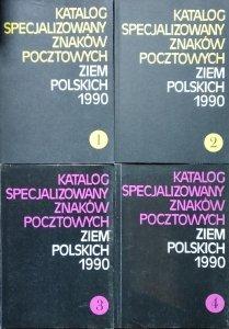 katalog specjalizowany znaków pocztowych ziem polskich [zestaw]