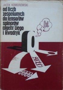 Jacek Komorowski • Od liczb zespolonych do tensorów, spinorów, algebr Liego i kwadryk