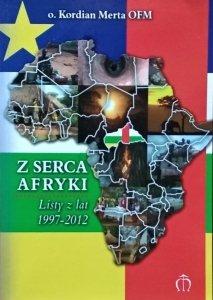 Kordian Merta • Z serca Afryki. Listy z lat 1997-2012