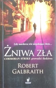 Robert Galbraith • Żniwa zła