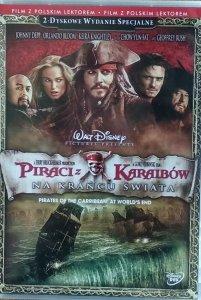 Gore Verbinski • Piraci z Karaibów: Na krańcu świata • DVD