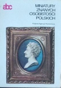 Halina Krassowska • Miniatury znanych osobistości polskich [abc sztuki]
