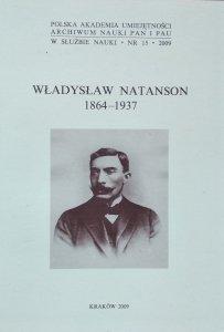 Rita Majkowska • Władysław Natanson 1864-1937