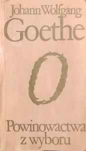 Johann Wolfgang Goethe • Powinowactwa z wyboru