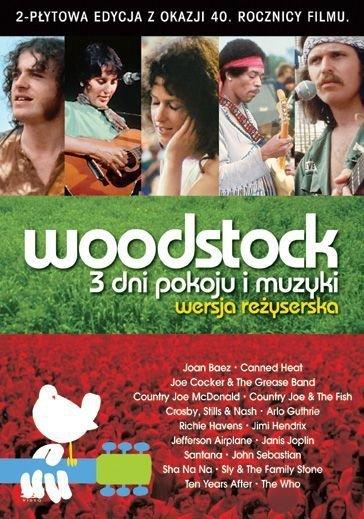 Michael Wadleigh • Woodstock: 3 Dni Pokoju i Muzyki (Wersja Reżyserska) • 2DVD