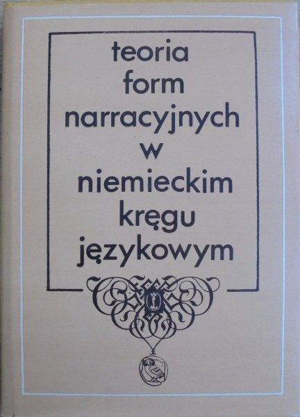 Teoria form narracyjnych w niemieckim kręgu językowym • Adorno, Stanzel