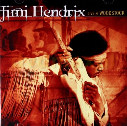 Jimi Hendrix • Live at Woodstock • 2CD