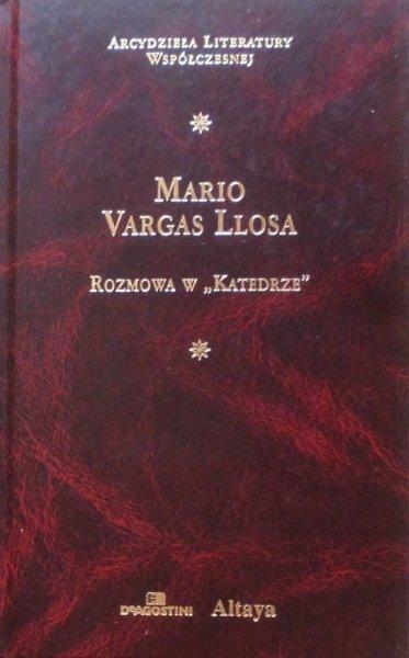 """Mario Vargas Llosa • Rozmowa w """"Katedrze"""" [Nobel 2010] [zdobiona oprawa]"""