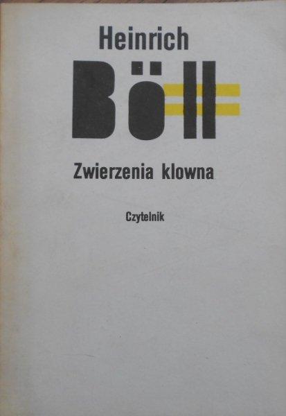 Heinrich Boll • Zwierzenia klowna