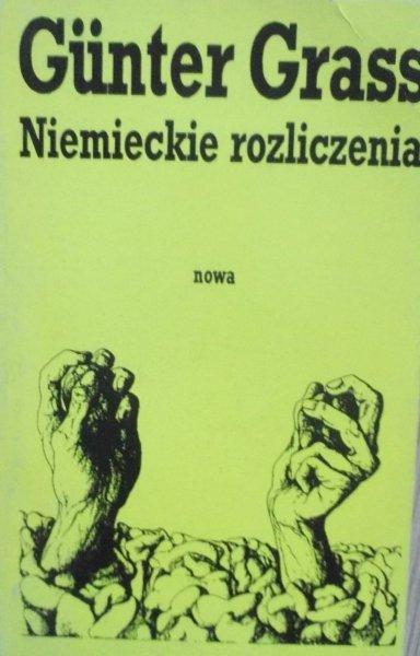 Gunter Grass • Niemieckie rozliczenia [Nobel 1999]
