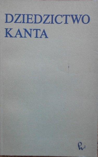 red. Jan Garewicz • Dziedzictwo Kanta