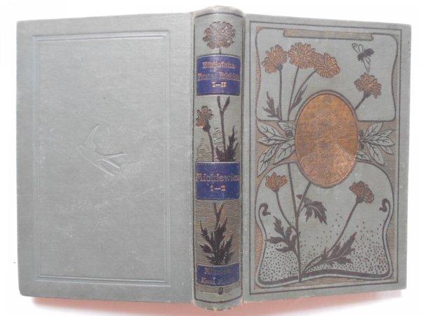 Poezye Adama Mickiewicza wydane w setną rocznicę urodzin wieszcza 1798-1898 t. I/II