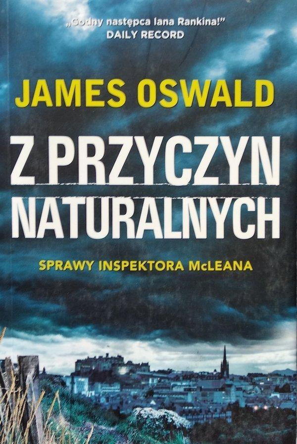 James Oswald • Z przyczyn naturalnych