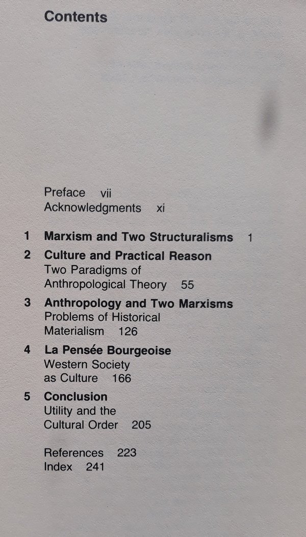Marshall Sahlins • Culture And Practical Reason