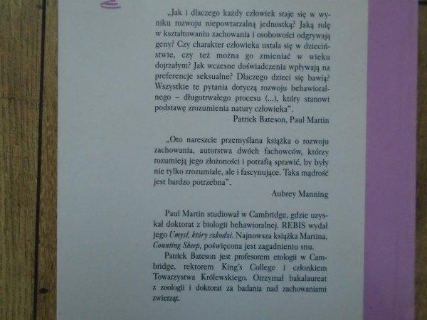 Patrick Bateson, Paul Martin • Projekt życia. Jak rozwija się zachowanie