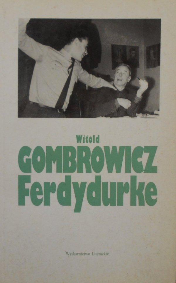 Witold Gombrowicz • Ferdydurke