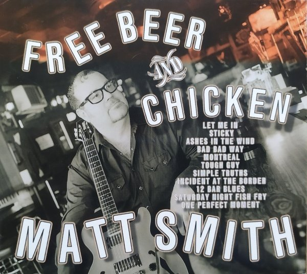 Matt Smith Free Beer and Chicken CD