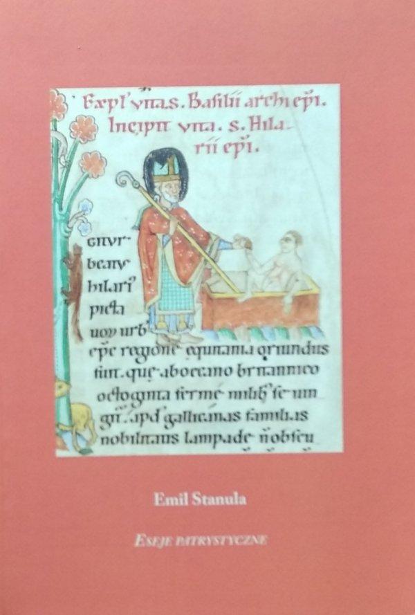 Emil Stanula • Eseje patrystyczne