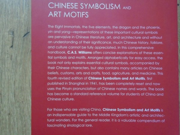 C.A.S.Williams • Chinese Symbolism and Art Motifs