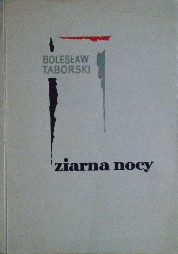 Bolesław Taborski • Ziarna nocy [dedykacja autorska]