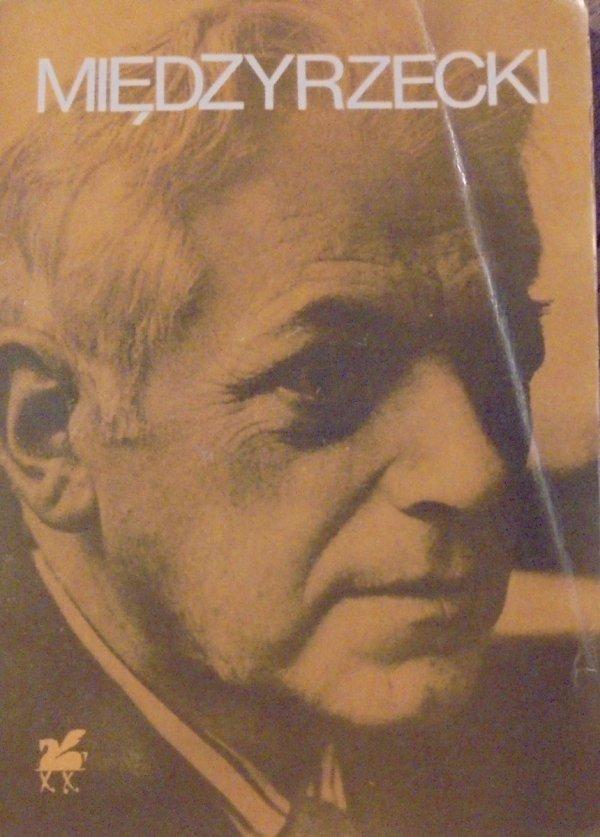 Artur Międzyrzecki • Poezje wybrane [dedykacja autora]