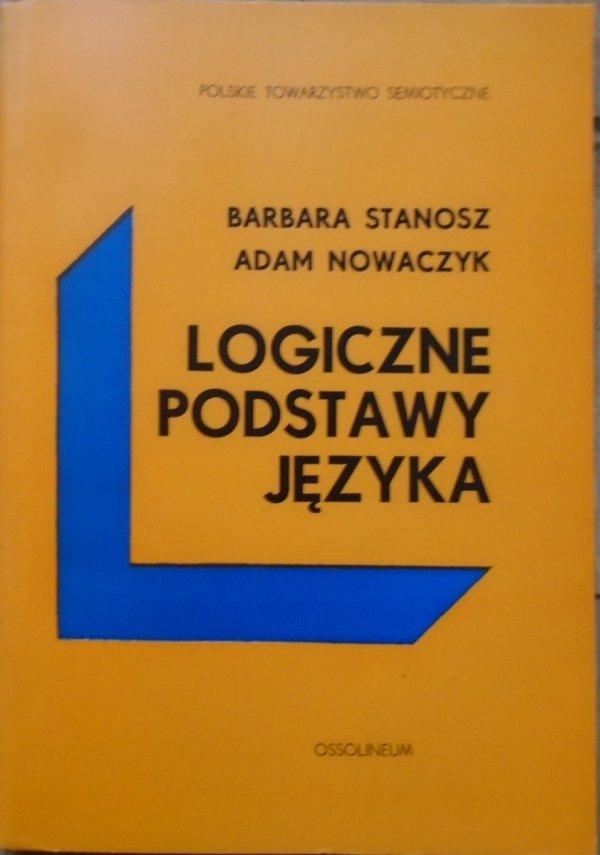 Barbara Stanosz, Adam Nowaczyk • Logiczne podstawy języka